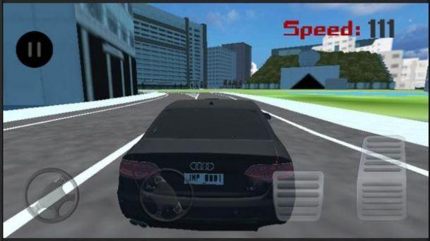奥迪城市驾驶模拟截图