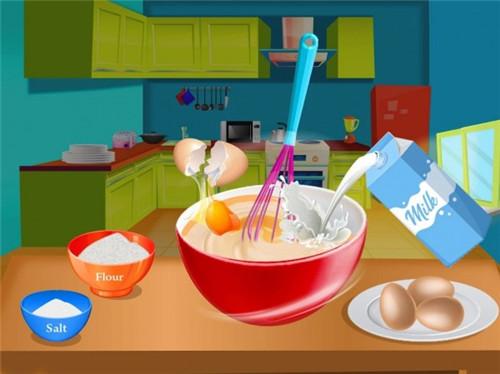 在厨房做意大利面食品截图