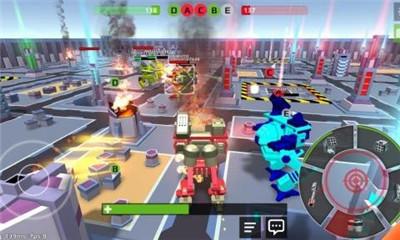 像素机器人战场截图