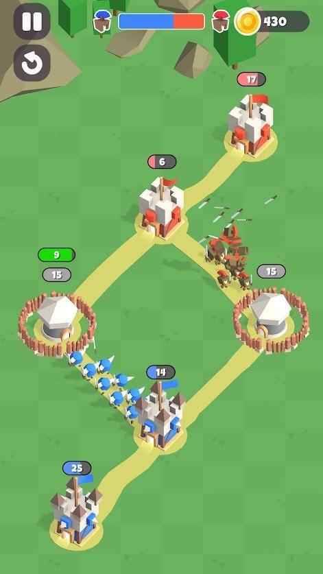 皇家攻城城池征服截图