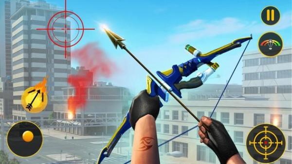 刺客弓箭射击英雄截图