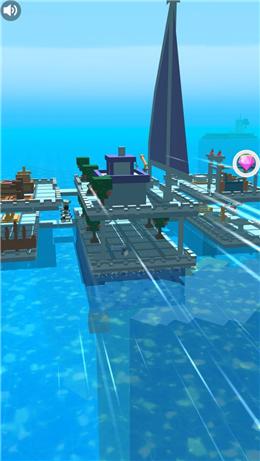 木筏求生存海洋截图