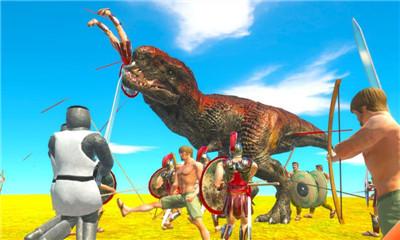 真实恐龙战争模拟器截图