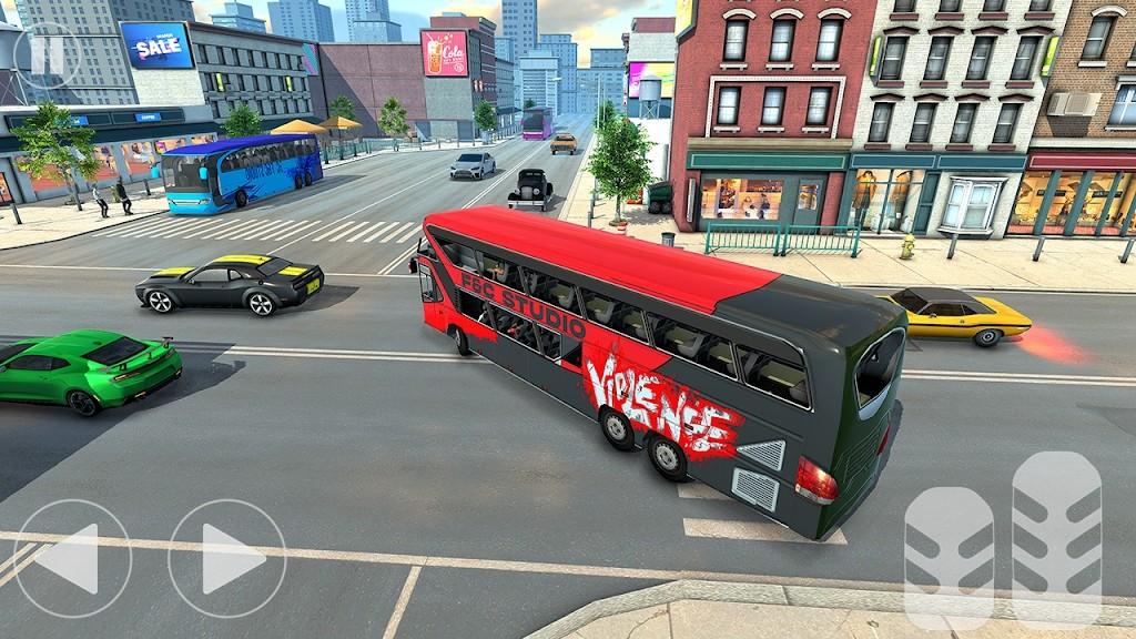城市公交车乘客模拟器截图