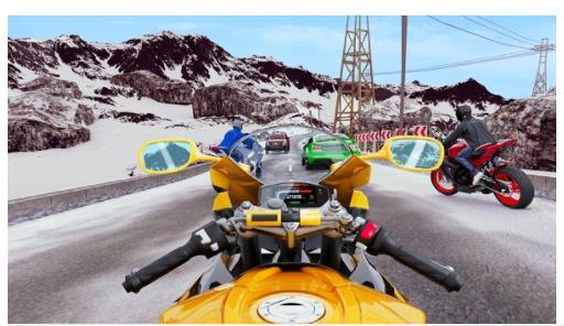 真实摩托车挑战赛截图