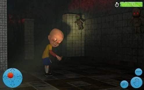 黑暗房子里的婴儿截图