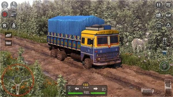 越野货物汽车驾驶3D截图
