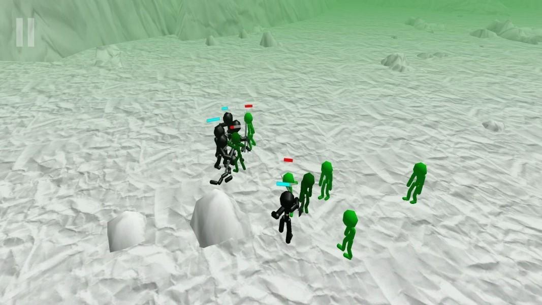 火柴人重装军队截图