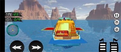 水上的士模拟器截图