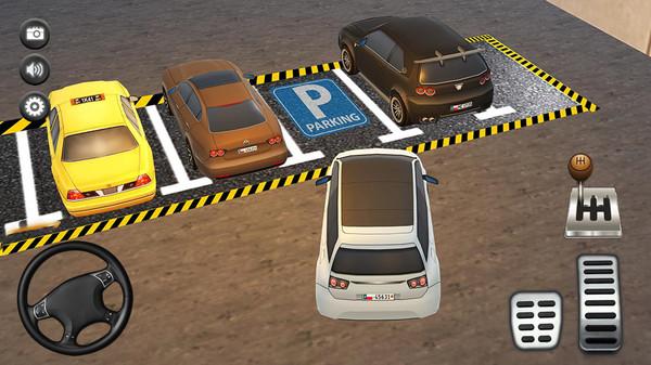 停车场真实模拟截图