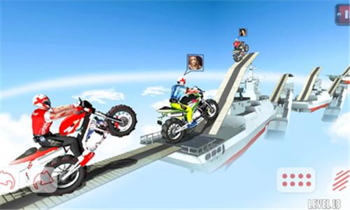 越野摩托屋顶赛截图